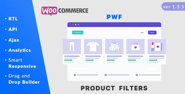افزونه فیلتر محصولات PWF WooCommerce Product Filters ووکامرس نسخه 1.4.7
